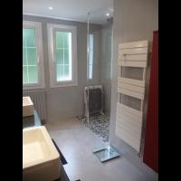 Salle de bain - béton ciré